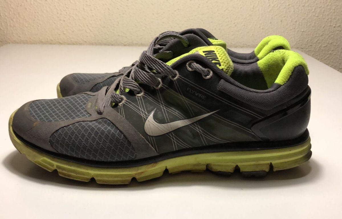Cambiarse de ropa fútbol americano Clásico  Tenis Nike Lunarglide 2 Flywire Cinza e Verde   Tênis Masculino Nike Usado  27253025   enjoei
