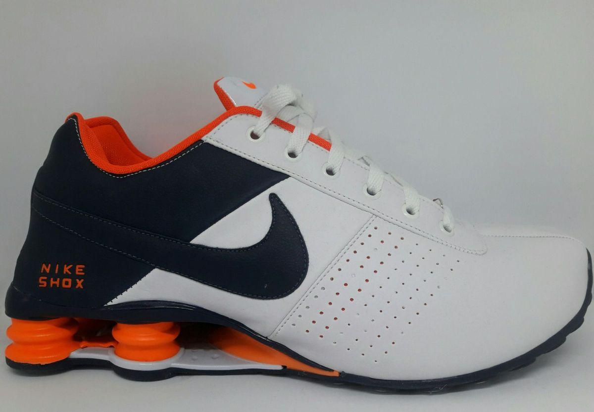 buy online d5a08 39f86 tenis nike shox classic branco laranja numero 40 - tênis nike