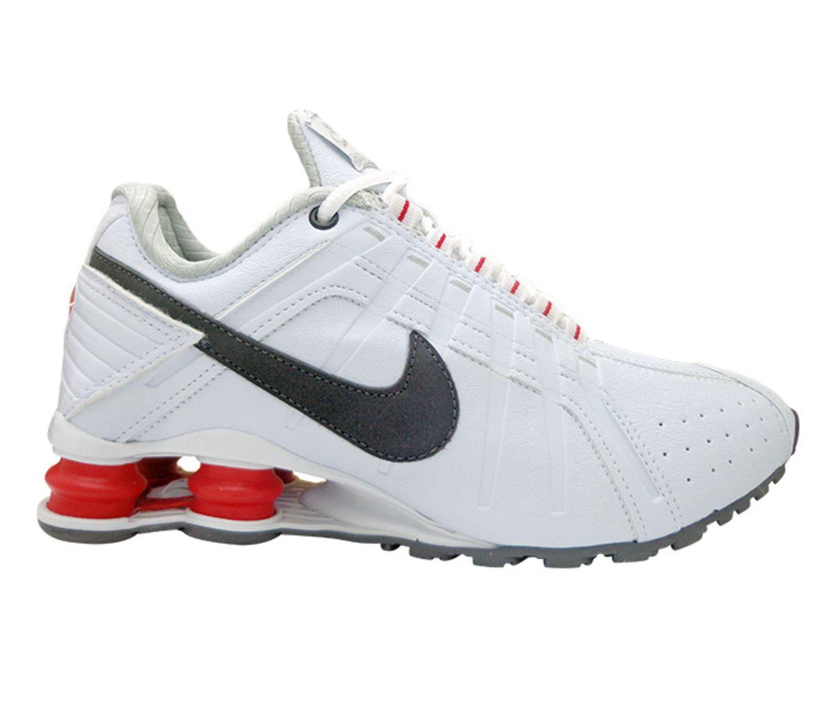 best sneakers eeb39 81649 tênis nike shox junior branco e vermelho - tênis nike