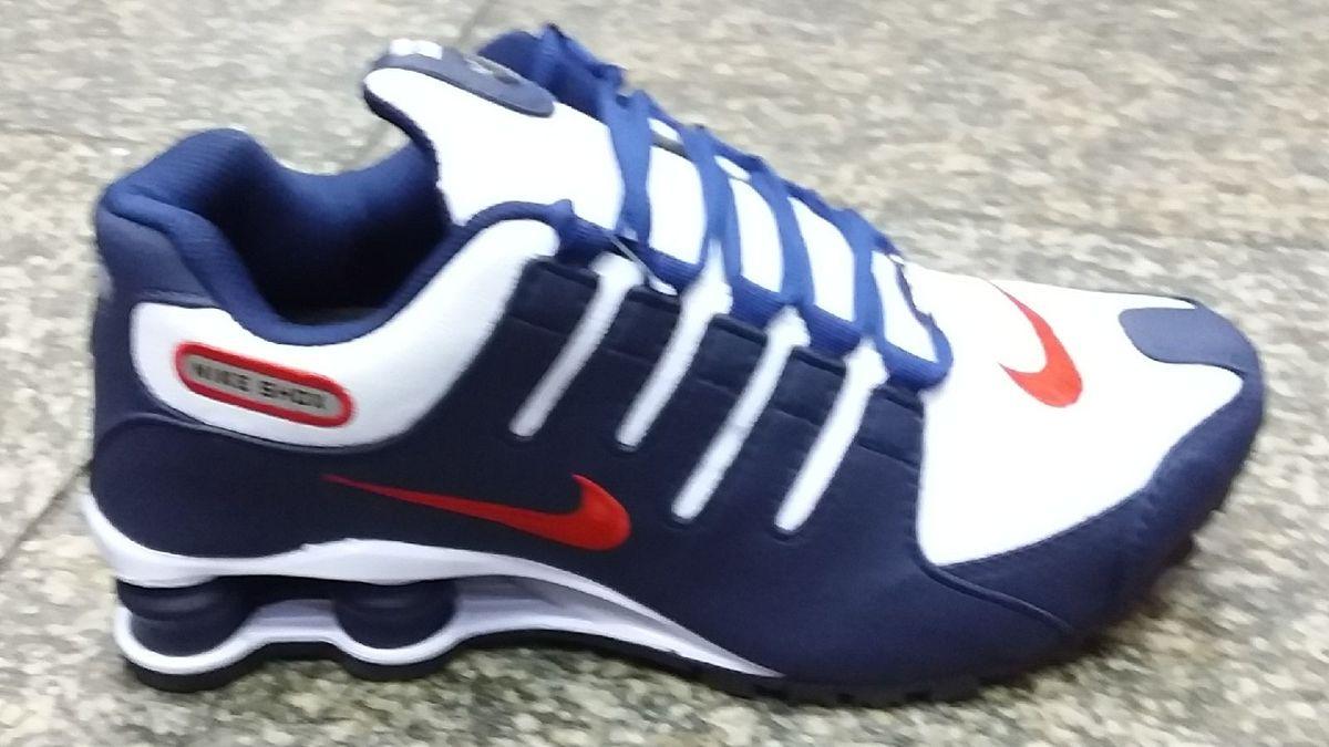 lowest price 0f93f 13121 tenis nike shox nz azul masculino novo com caixa promoção número 41 - tênis  nike