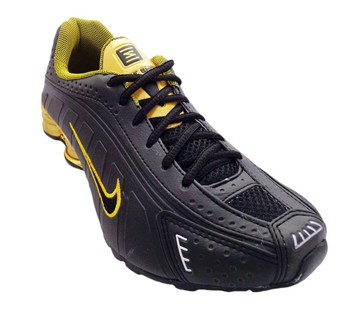1a8d755dc71 Tênis Nike Shox R4 Cromado