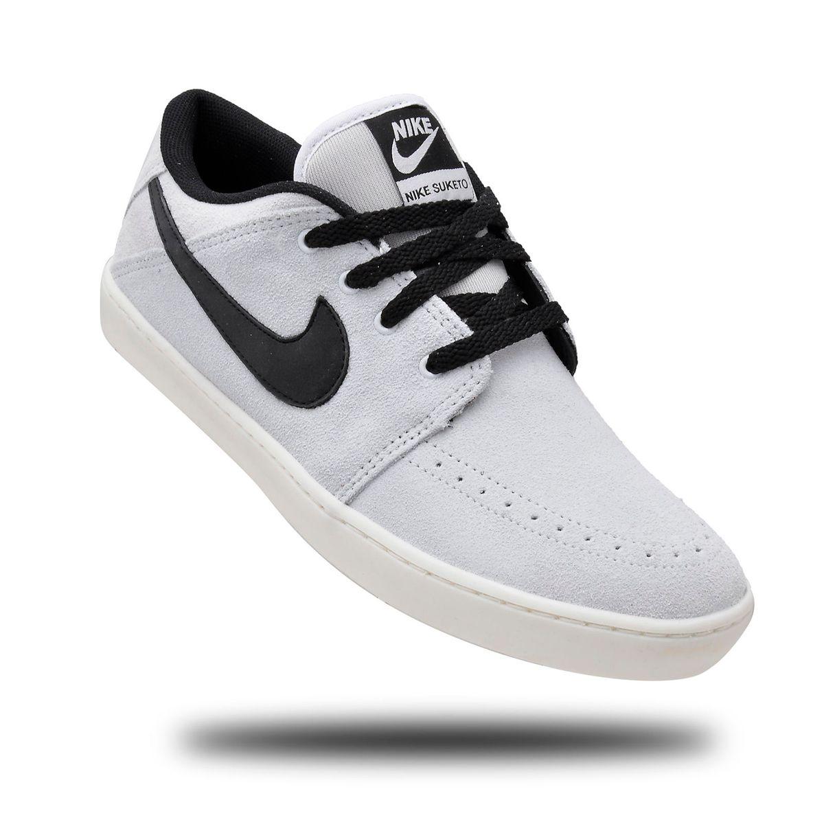 d8ef1502715 Tênis Nike Suketo Leather C. Baixo Alvejado 43 + Frete Grátis ...