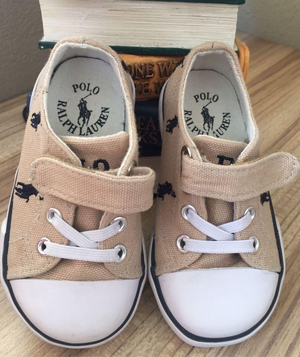 52a5343df06d2 Tênis Polo Ralph Lauren Menino | Calçado Infantil para Bebê Polo ...