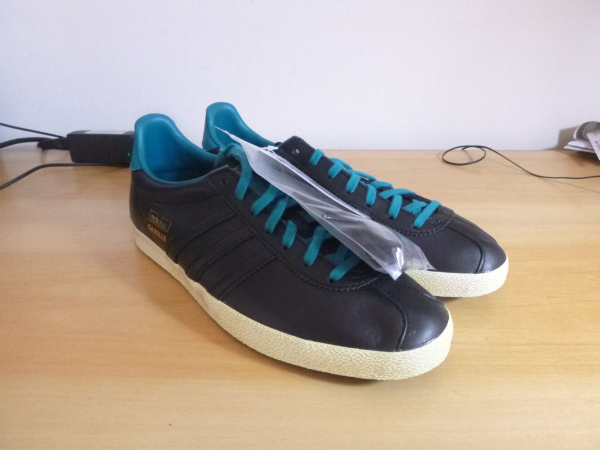 ab6f72821b adidas gazelle og originals - tênis adidas.  Czm6ly9wag90b3muzw5qb2vplmnvbs5ici9wcm9kdwn0cy8znjy4ni9kmdyzmmflotaymdgyyjzmngjmzmrkowywmwe5ndzimy5qcgc  ...