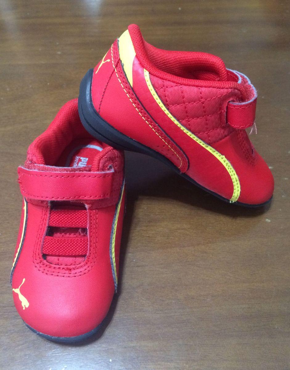 89a753485b Tenis Puma Scuderia Ferrari Infantil | Calçado Infantil para Meninos ...