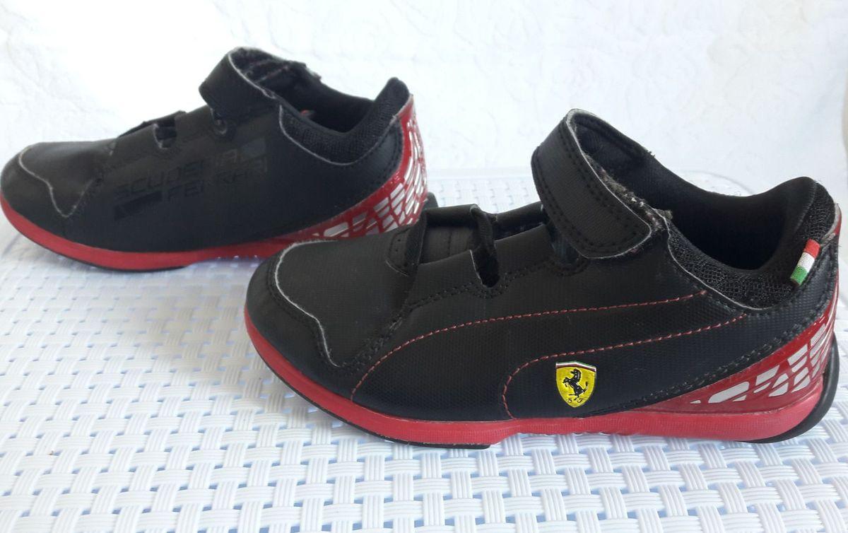 c01d3bafa8 Tênis Puma Scuderia Ferrari | Calçado Infantil para Meninos Puma ...