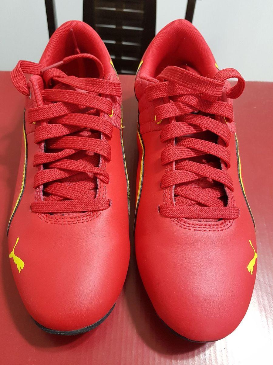 555f7c4be2575 Tênis Puma Vermelho - Escuderia Ferrari | Tênis Feminino Puma Nunca ...