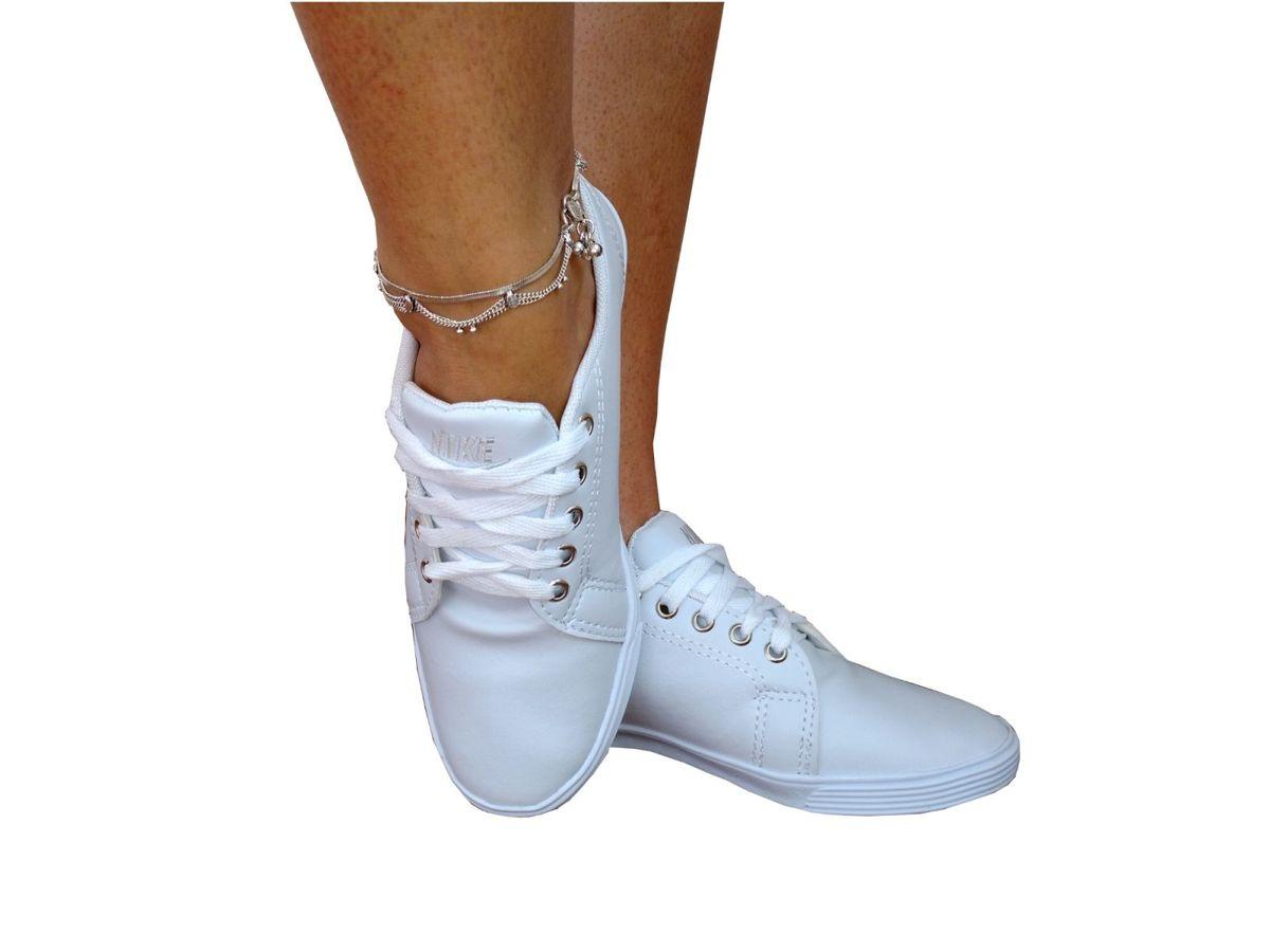 edb3033a2db Tênis Sapatênis Nike Feminino Moda 2018