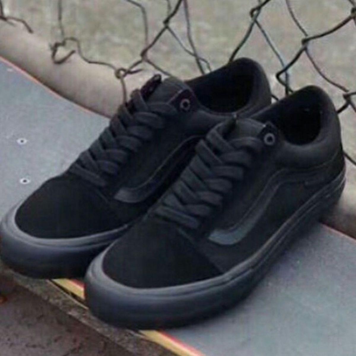a1a7820f8907f Tênis Vans Old Skool Black | Tênis Feminino Vans Old Skool Nunca ...