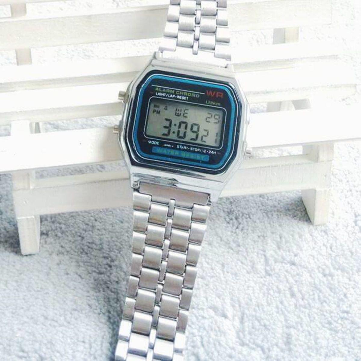 797bf59d12e tipo casio vintage - relógios sem marca.  Czm6ly9wag90b3muzw5qb2vplmnvbs5ici9wcm9kdwn0cy8yodi2mi84mdzjzmmxmzywzdfkyzlmowi4zjvlowm3nzi5mwfjzc5qcgc  ...