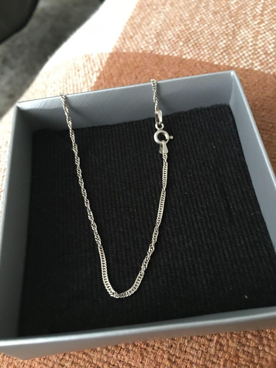 tornozeleira em prata - jóias prata