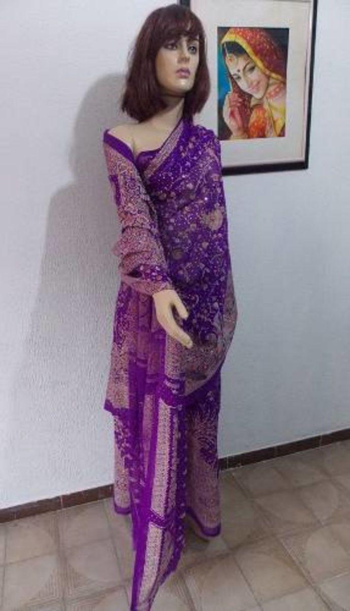 1cc44bad1742e traje indiano  sari indiano - vestidos de festa comprado na india