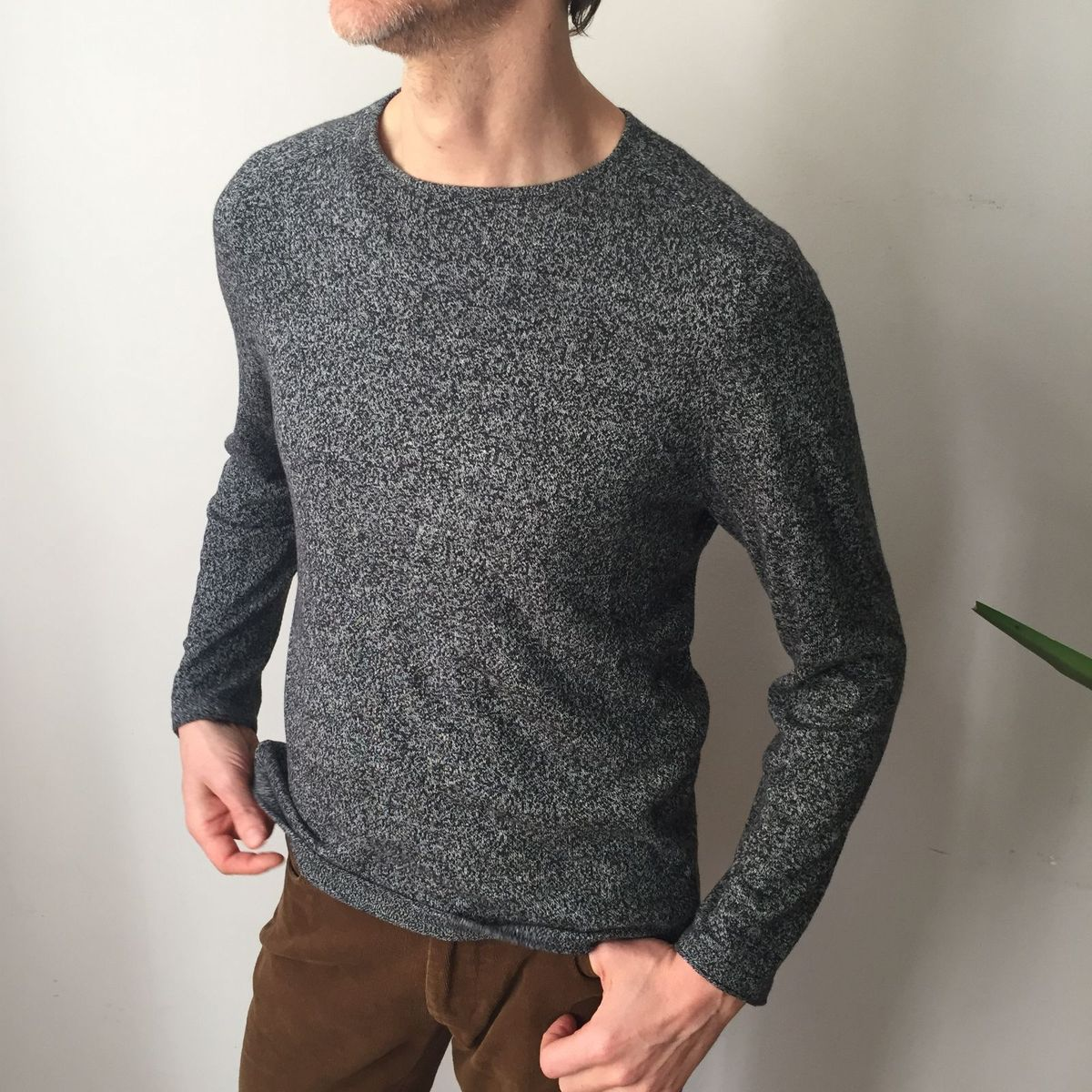 trico mescla zara man - casacos zara man