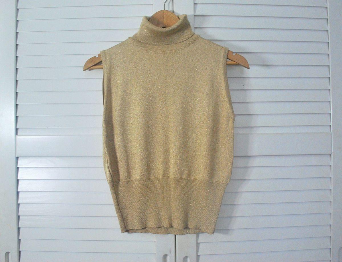 tricot lurex cacharrel - blusas sem marca