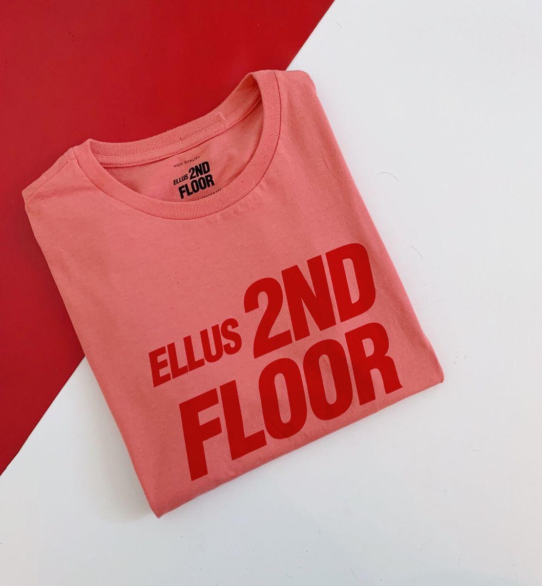 tshirt ellus 2nd floor - blusas ellus