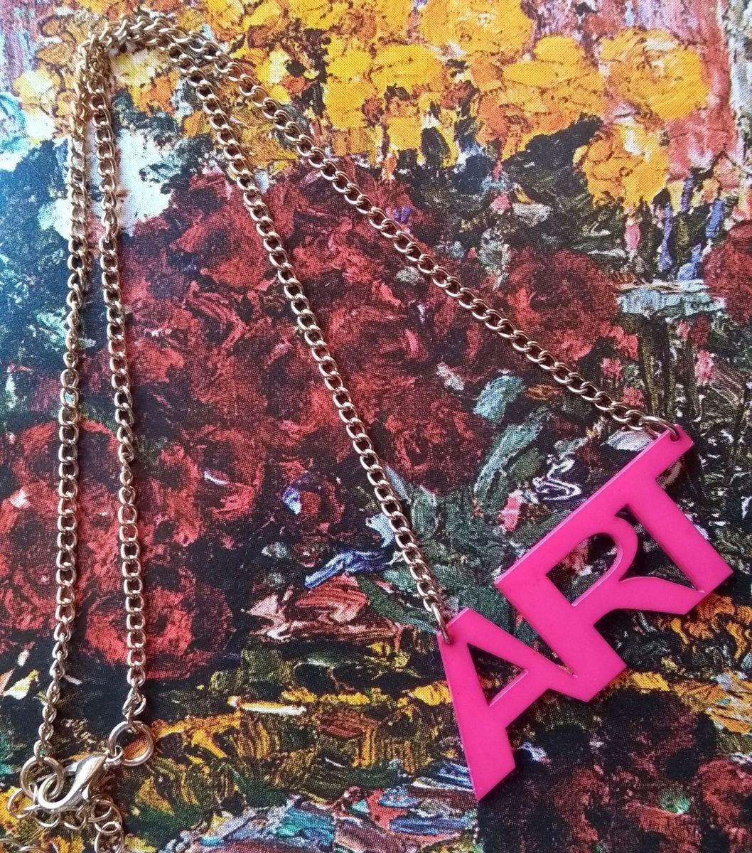 tudo pela arte - bijoux sem marca