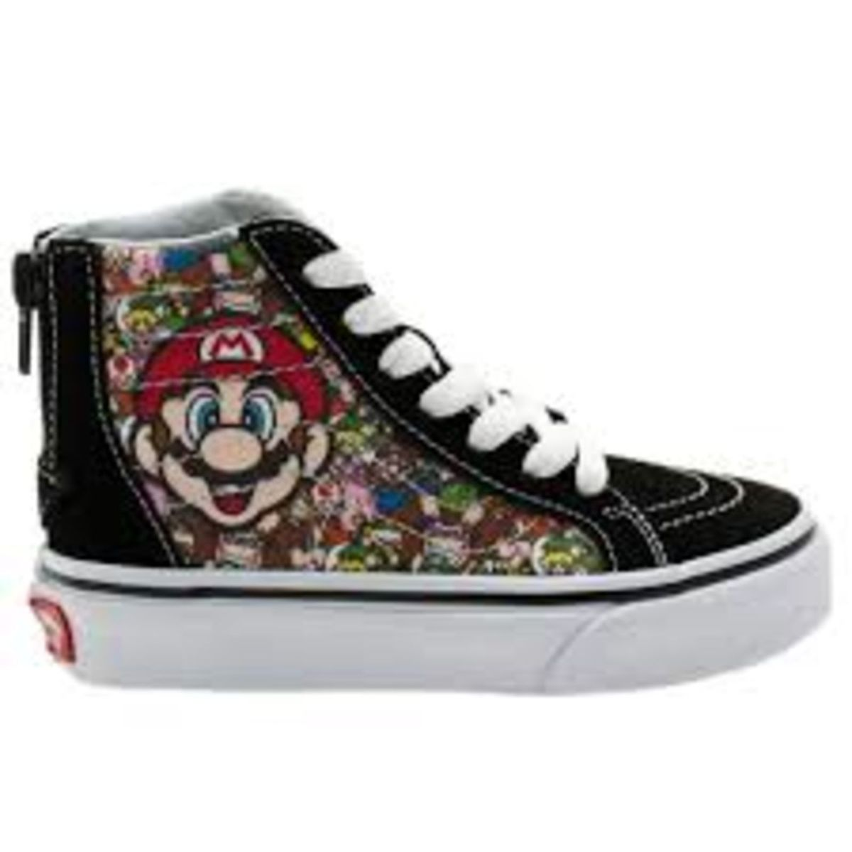 654813a0c1e Vans do Mario Bross e Luigi