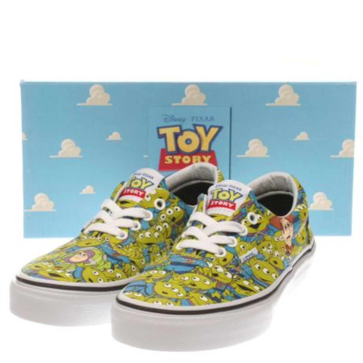 e8dd5439c58 Vans Toy Story Aliens Brilha No Escuro !!!