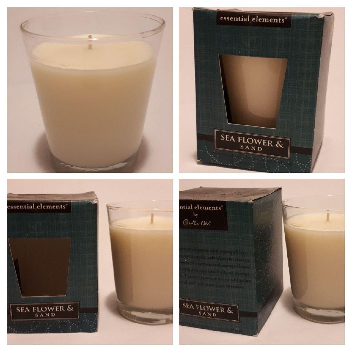 vela aromatica essentials elements importada