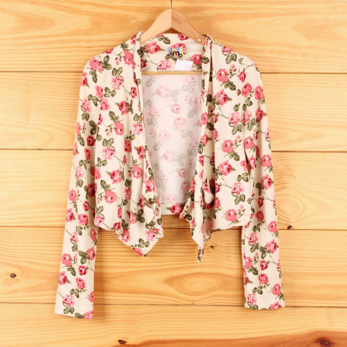 veste roseira - casaquinhos eme