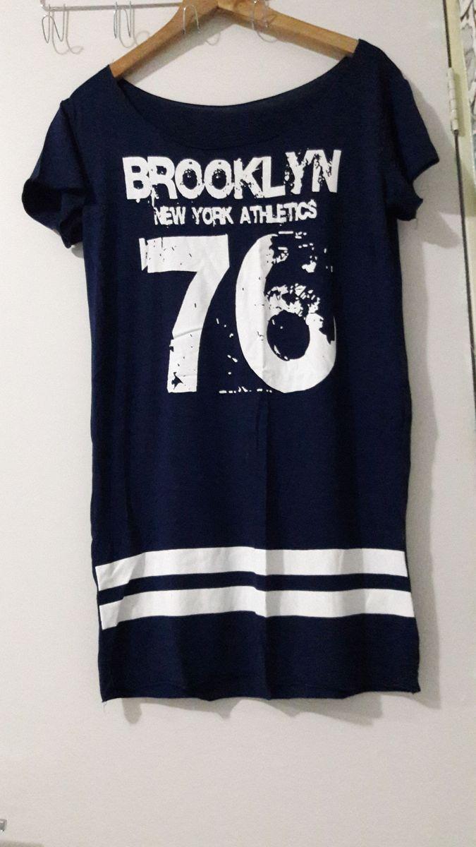 d1ab2e30b4 vestido camiseta baisebol manga curta basquete número blusa - vestidos sem  marca