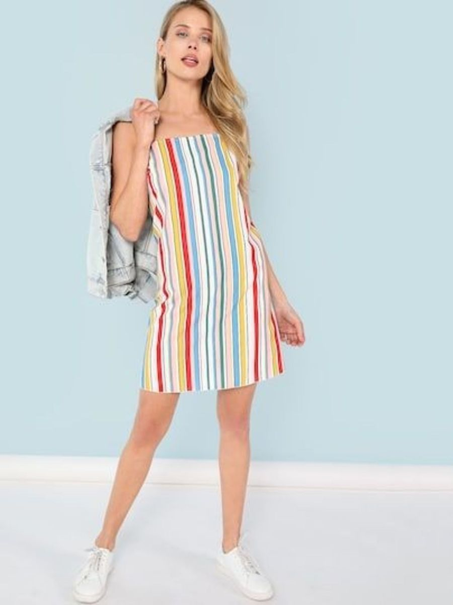 vestido casual - vestidos fancy-store