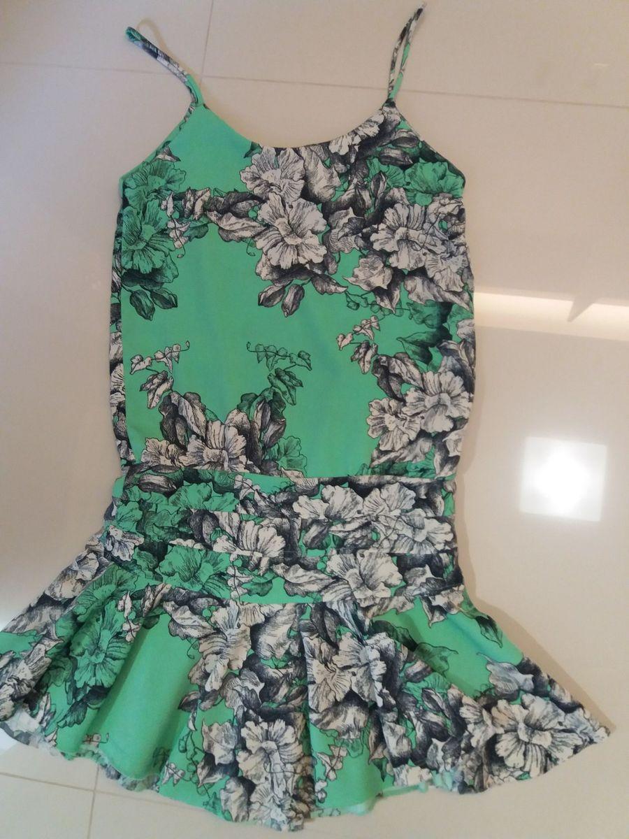 fedba6e014 vestido curto farm saia rodada floral - vestidos farm