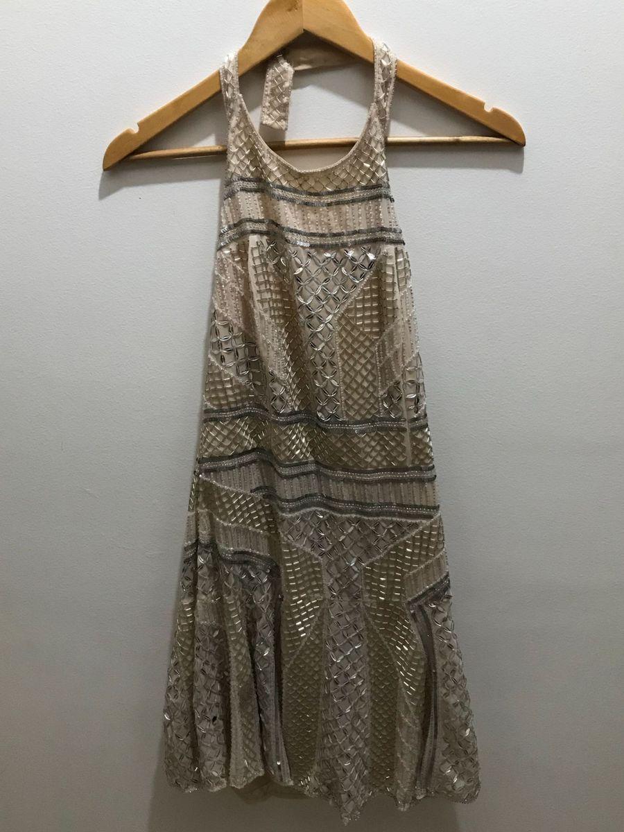 cb19014365 vestido de festa curto bordado em pedraria - vestidos de festa sem marca