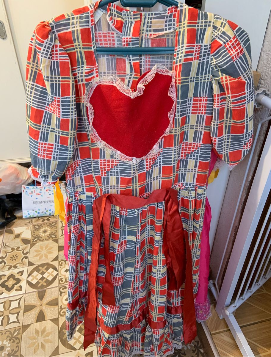 vestido de festa junino - vestidos sem marca
