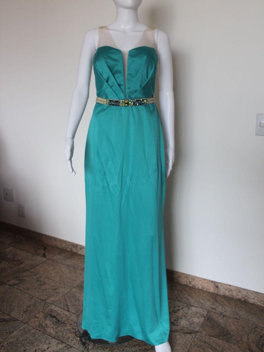 0f854020c Vestido de Festa Longo   Vestido de Festa Feminino M Rodarte Usado ...