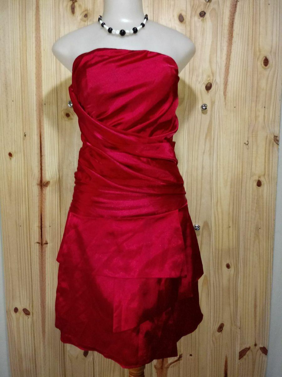 vestido de festa midi vermelho - vestidos de festa padrina