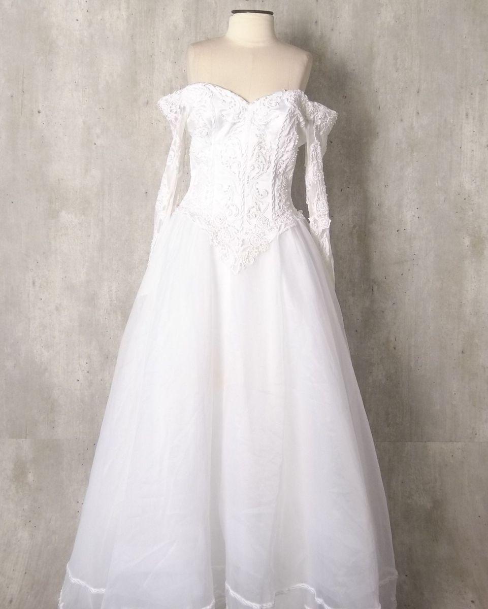 vestido de noiva com renda e pérolas - casamento moonlight