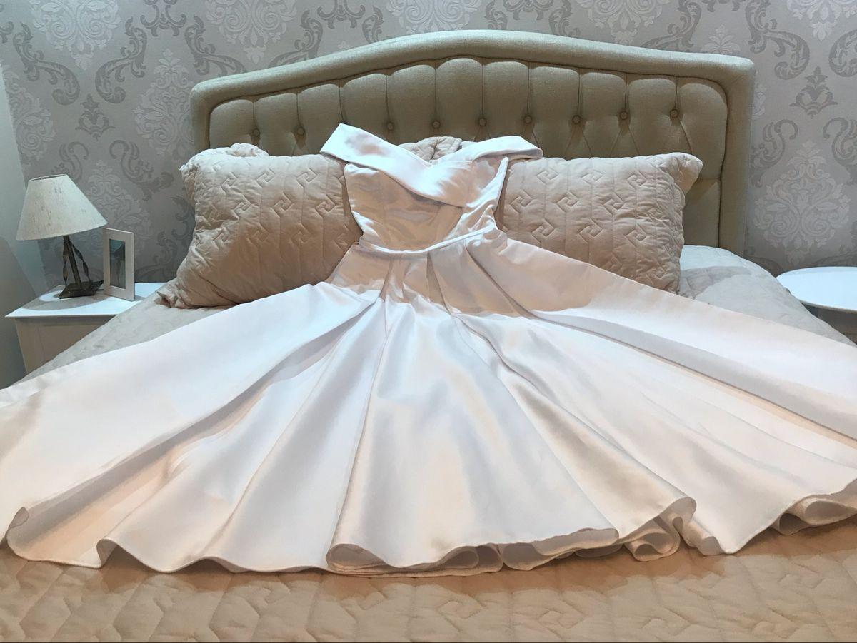 vestido de noiva e daminha - vestidos de festa sem marca