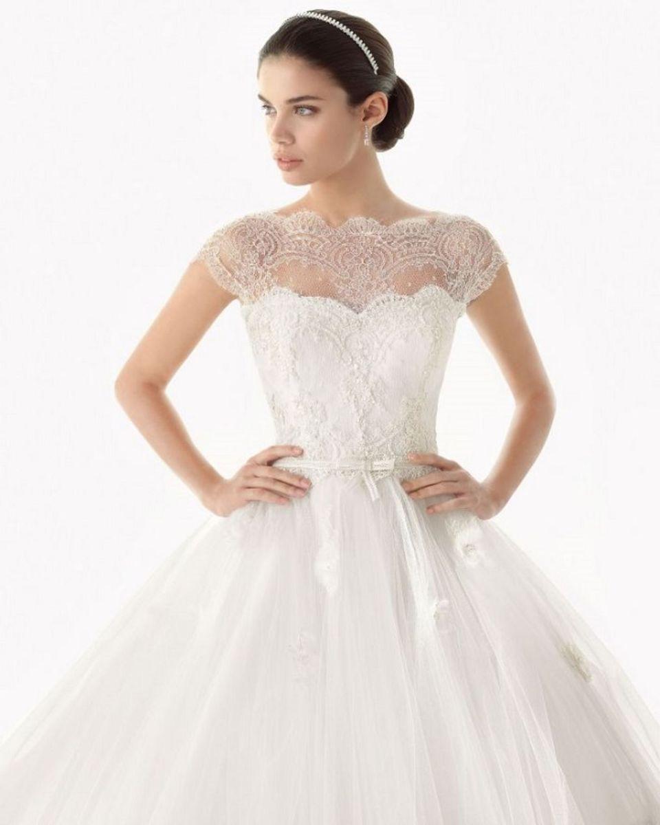 Vestido De Noiva Rosa Clará Vestido Feminino Rosa Clará Nunca Usado 30103872 Enjoei
