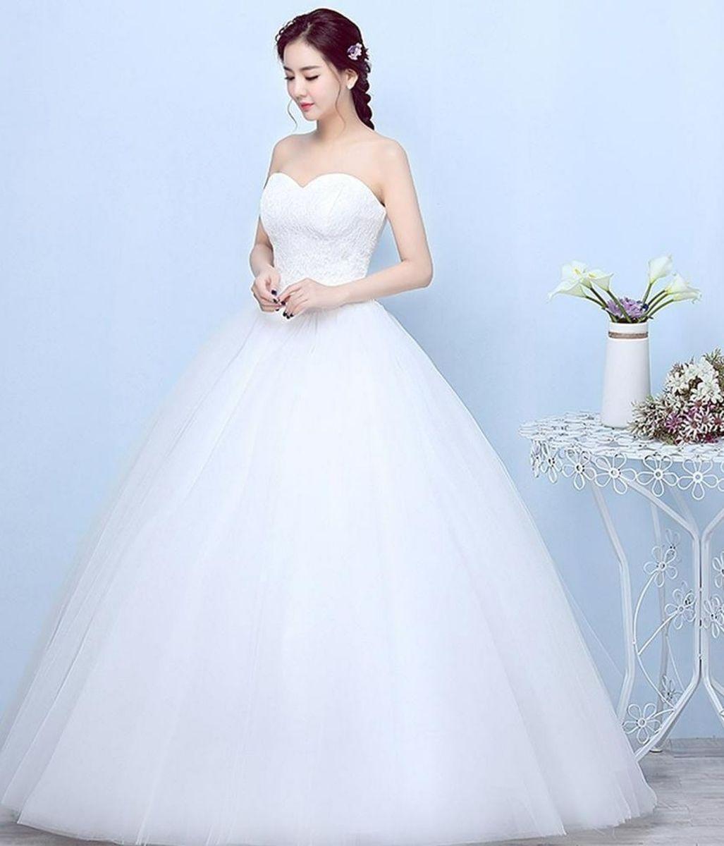 vestido de noiva - vestidos sem-marca