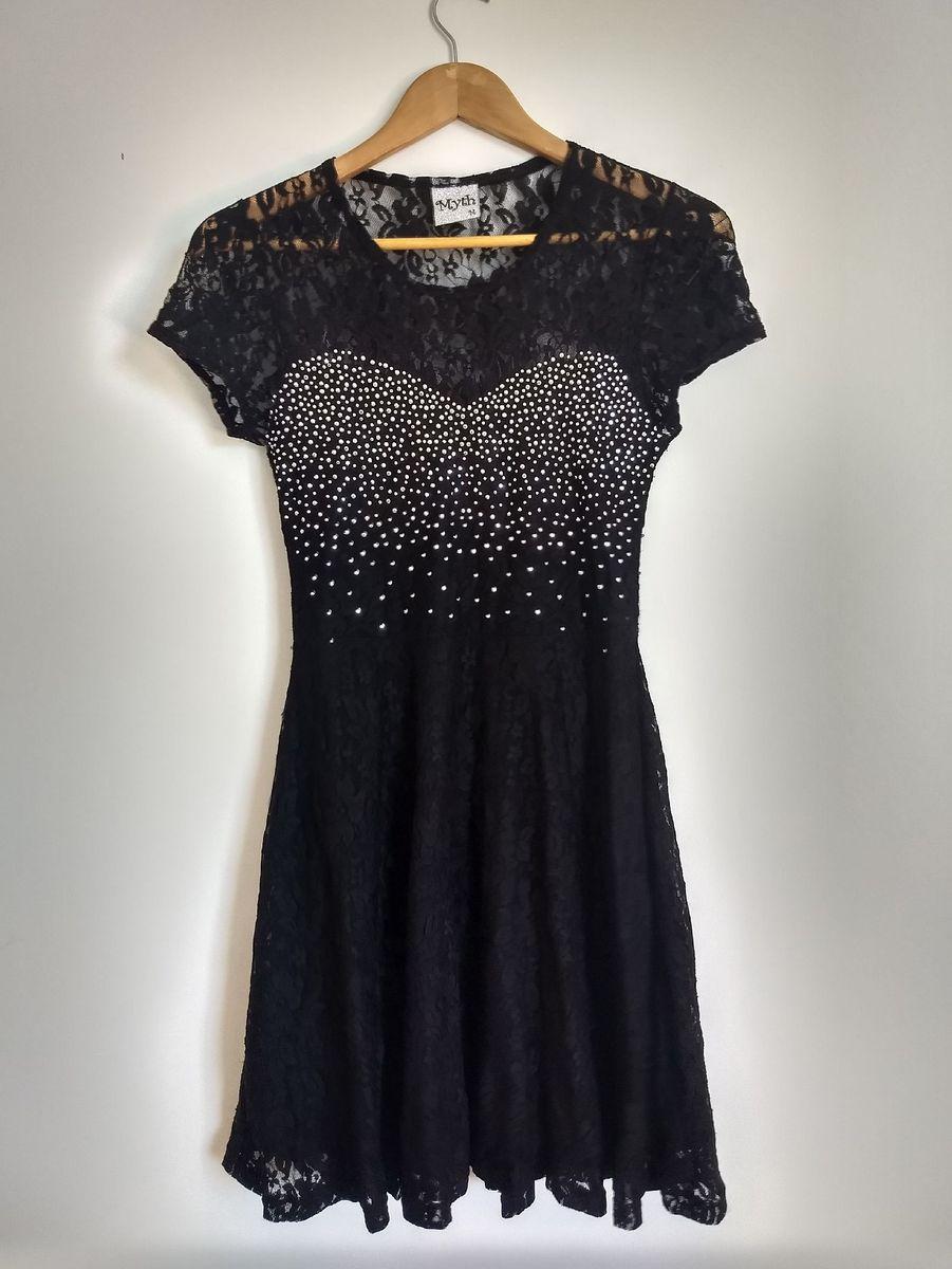 vestido de renda myth - vestidos myth