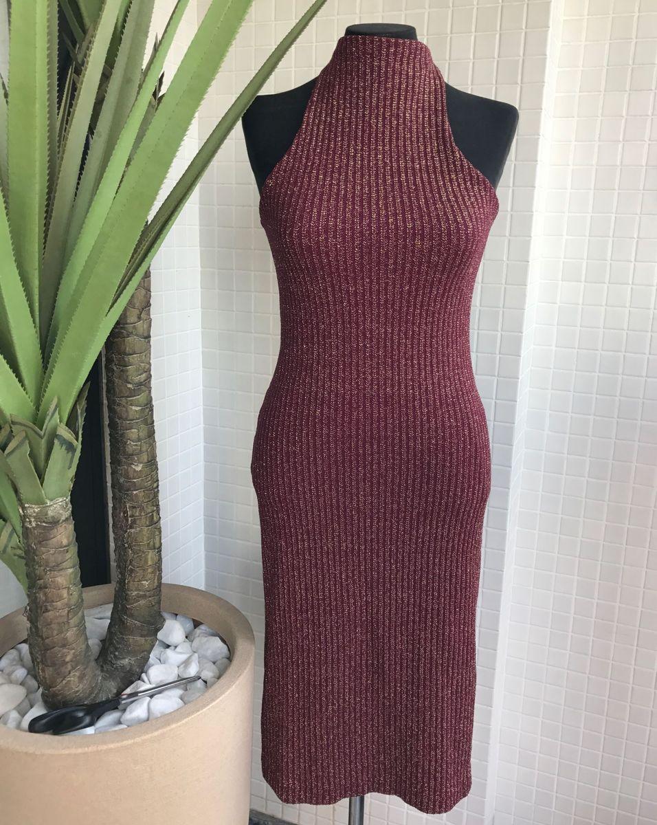 vestido em lurex - vestidos mo bettah