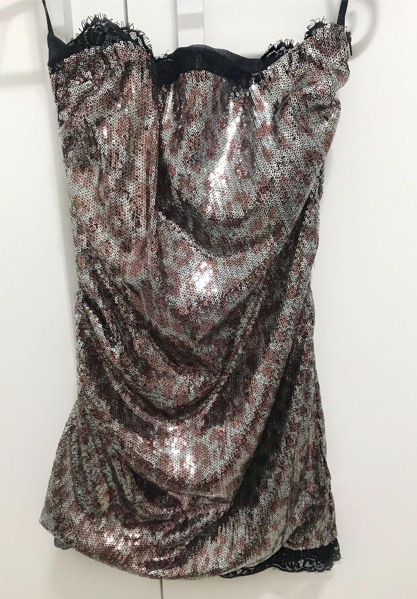 94971c8ce vestido estampa onça paetê com detalhes em renda fabulous agilita - vestidos  de festa agilita