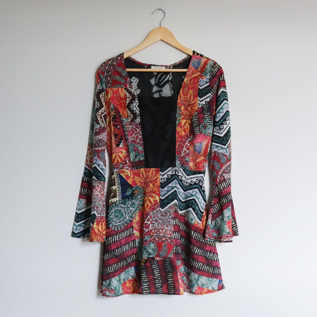 vestido estampado - vestidos chocoleite