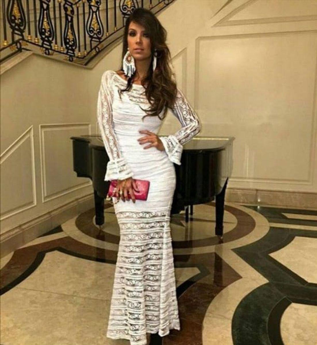 e6df02442 vestido fabulous agilita longo de festa branco noiva white party batizado  reveillon - vestidos fabulous agilitá