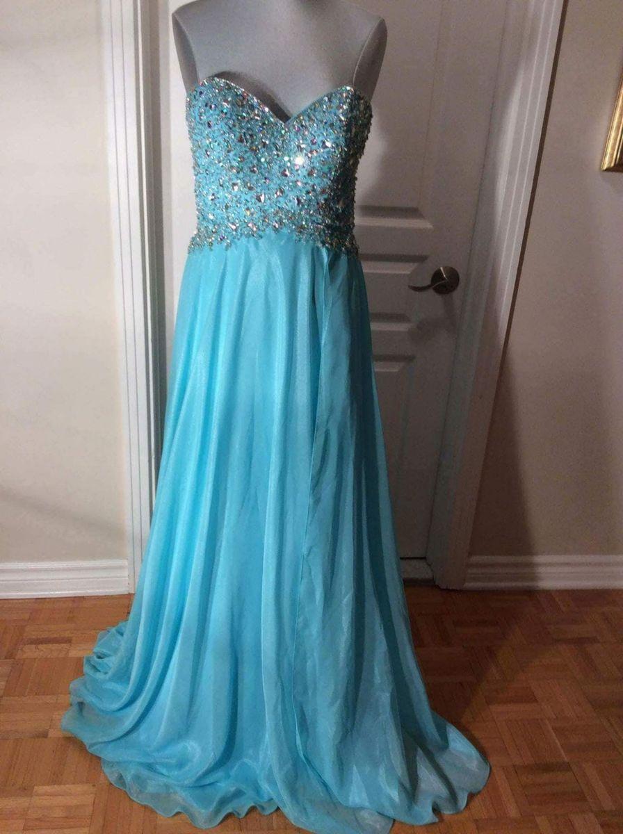 Onde comprar vestido de festa azul tiffany