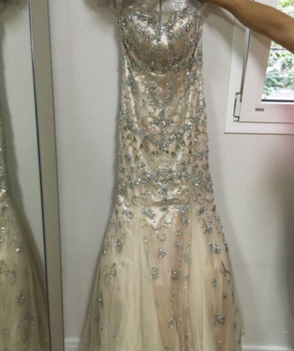 f16c48d06 vestido festa longo estilista eua jovanni com pedraria - vestidos de festa  jovanni