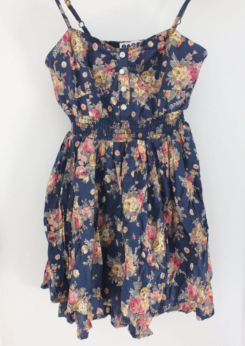 vestido floral vintage - vestidos siren