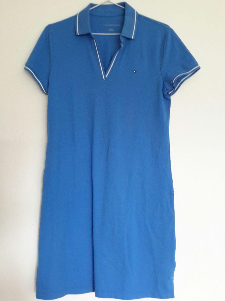 e5ca9666fd0 vestido gola polo - tommy hilfiger - original - importado - vestidos tommy- hilfiger