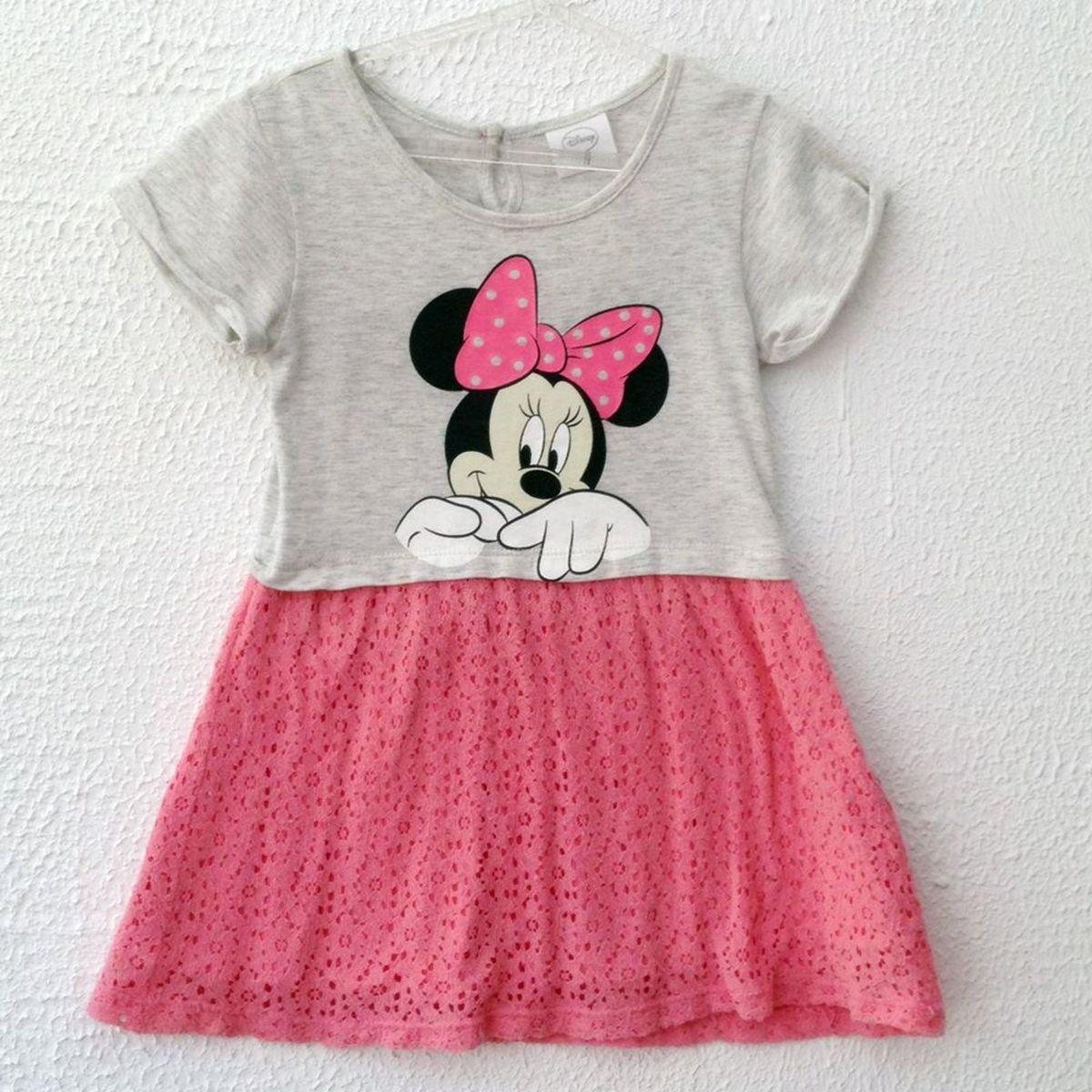 5265e13ba Vestido Infantil da Minnie Tam 4 Anos