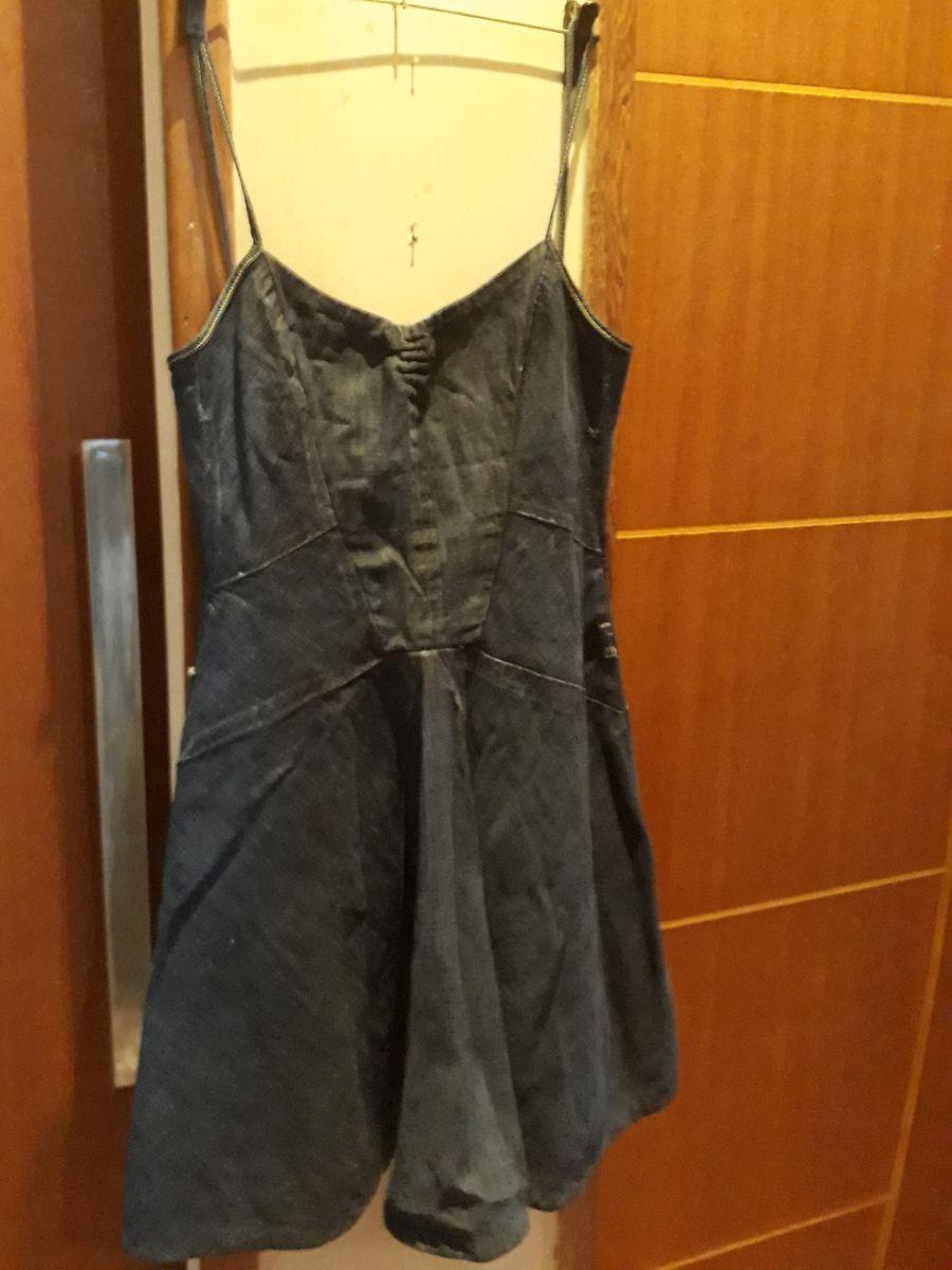 vestido jeans cantao - vestidos cantão