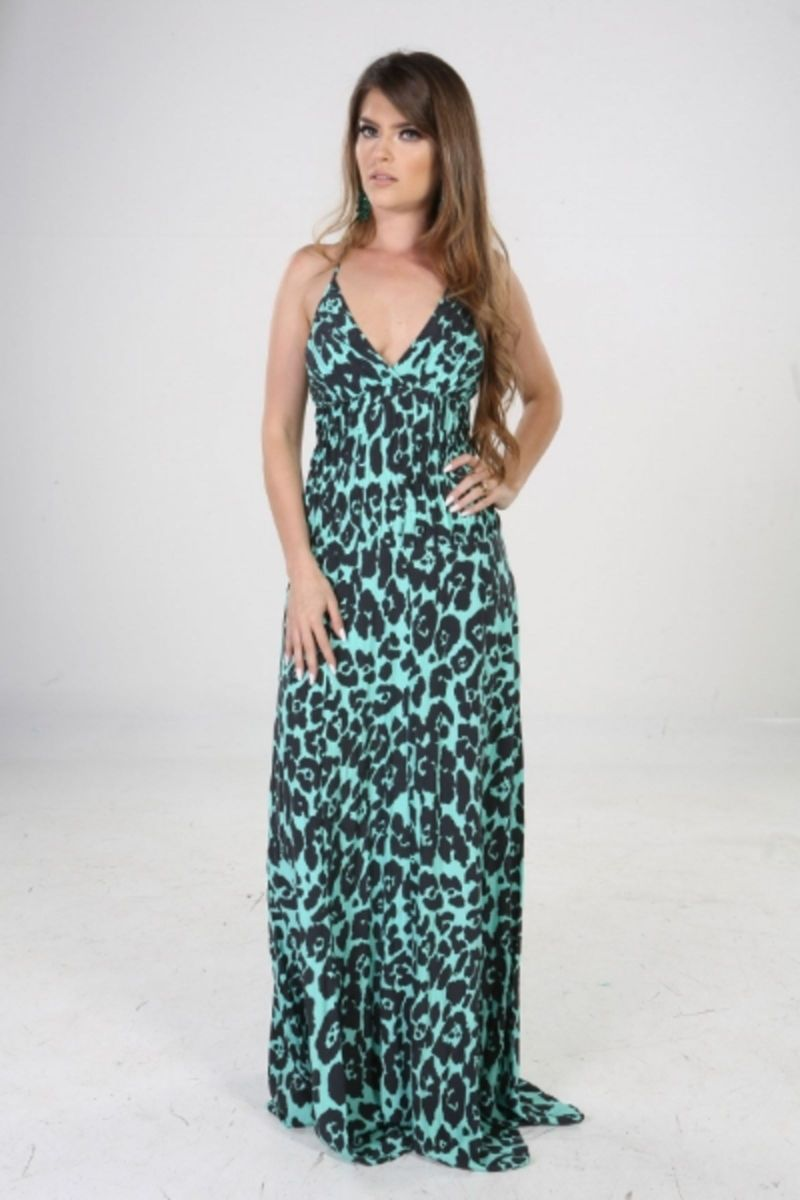 f47f4d819 vestido longo de seda estampado animal print decote nas costas - vestidos  de festa animale