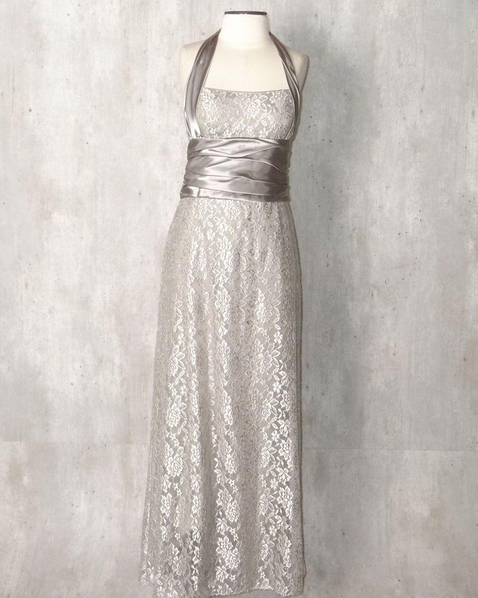 3e8250a9a5 vestido longo renda bege - vestidos de festa niki