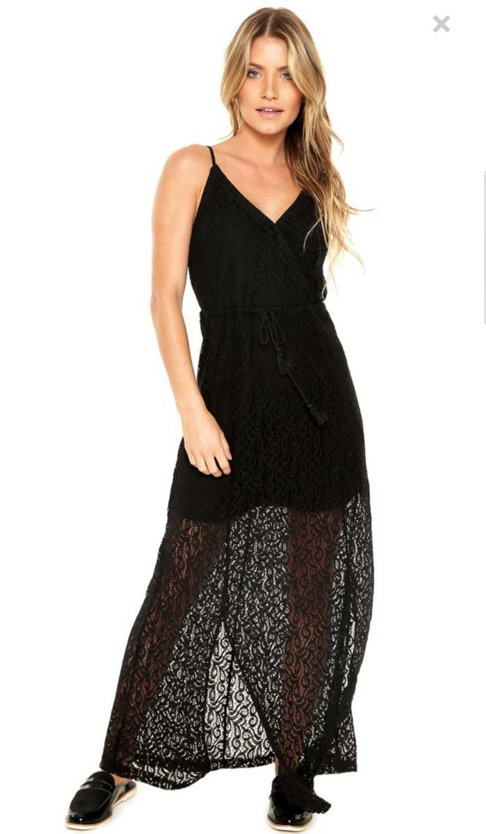 176997591 vestido longo renda preto - enfim - vestidos enfim.  Czm6ly9wag90b3muzw5qb2vplmnvbs5ici9wcm9kdwn0cy83oda4ny9lyjazzjrizjhlntk3y2rhztnimda3zgzmmjm2nmezyy5qcgc