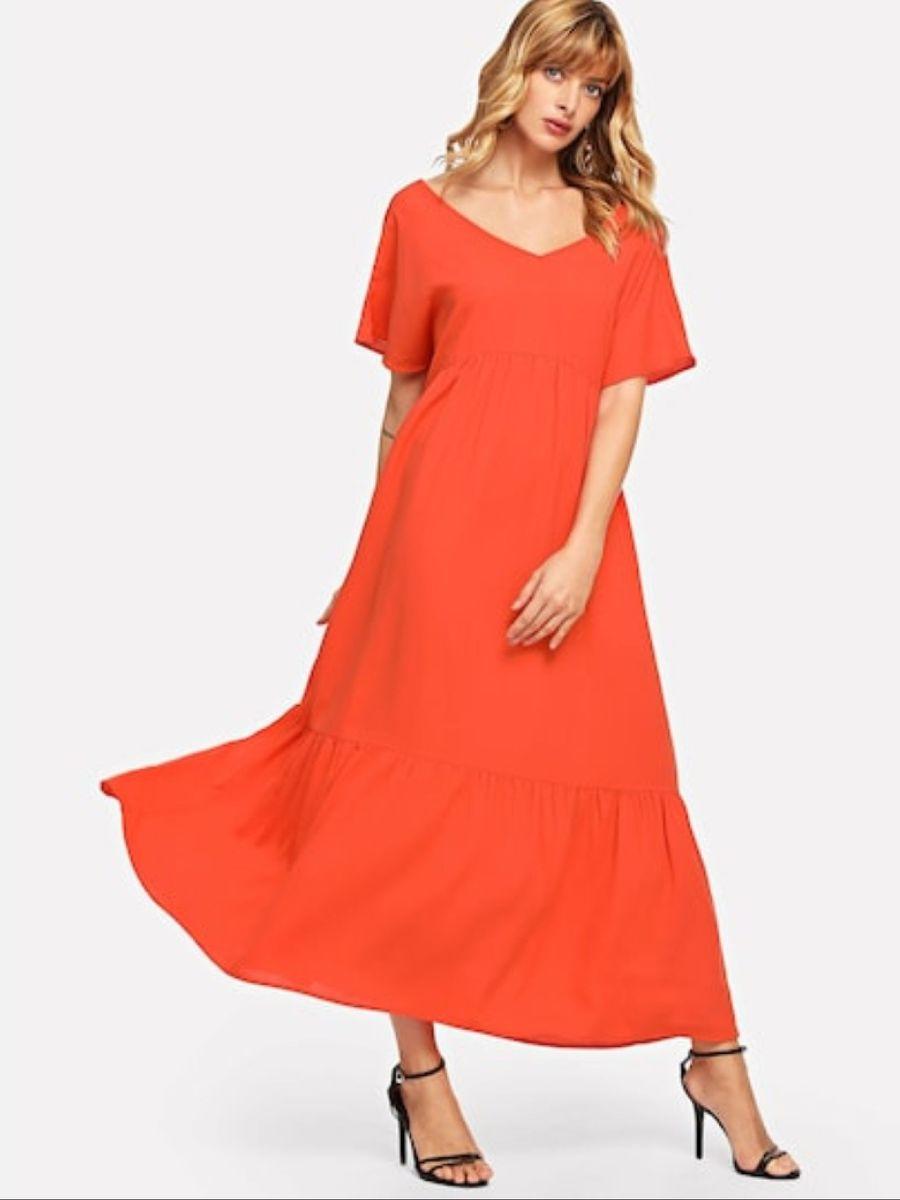 vestido longo - vestidos fancy store